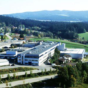Firma Rohde & Schwarz in Teisnach